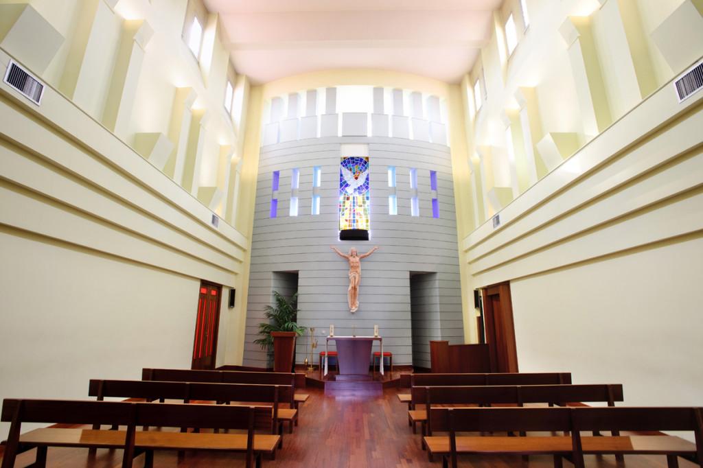 Interior capilla
